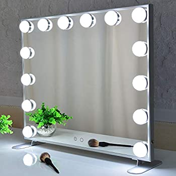 Amazon Com Vanity Mirror With Lights Hollywood Lighted