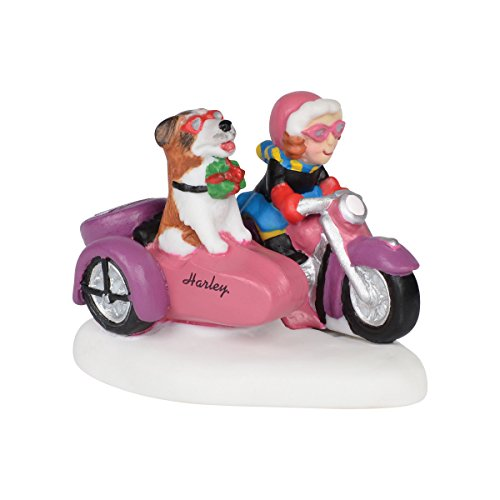 Department 56 North Pole Village Rebel with a Dog Accessory, 2 inch by Department 56