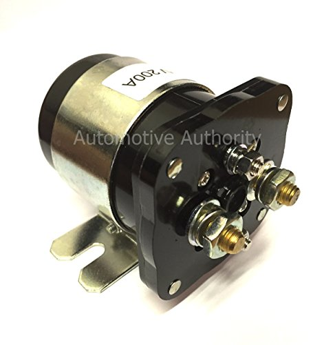 Automotive Authority 12V Solenoid #586-902, 586-105111 Replacement for White -