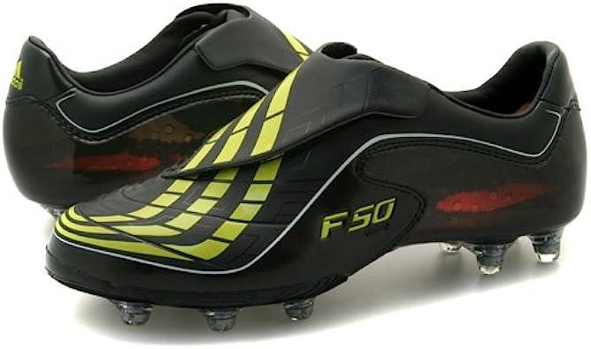 simpático Pepino Cuervo  Mens Adidas F50.9 TUNIT Black Football Boots UK 8: Amazon.co.uk: Shoes &  Bags