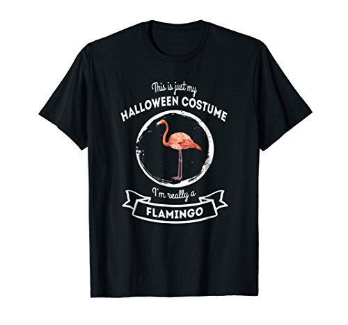 Flamingo Halloween Costume T-Shirt