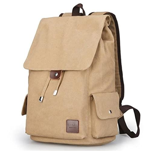 Nuobo 20L Canvas Backpacks School Bags for Teenagers Boys Girls Large Capacity Laptop Backpack Fashion Men Backpack