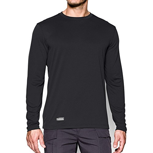 Under Armour Men's Tactical  Tech Long Sleeve T-Shirt, Black /None, Large ()