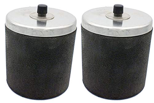 (2 Replacement Barrels for Chicago Electric Drum Rock Tumbler)