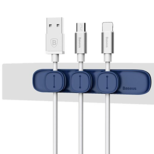 Bescita NEUE Magnetischen Clips Kabel Halter Portable DesktopKabel ...