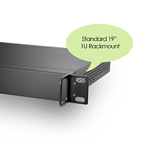 MITXPC M1U05 Mini 1U Rackmount Case with Front I/O Access, 250W 80+ Power Supply by MITXPC (Image #5)