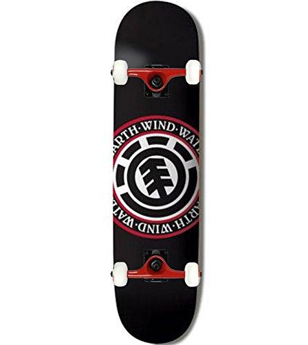 Element Seal (Element Skateboard Complete TEAM SEAL BLACK 7.75