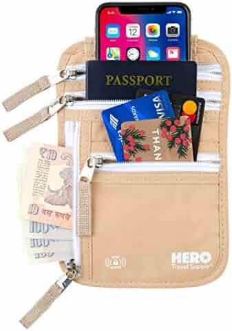 b3df5f7740b7 Shopping RFID Blocking - Beige - Passport Wallets - Travel ...