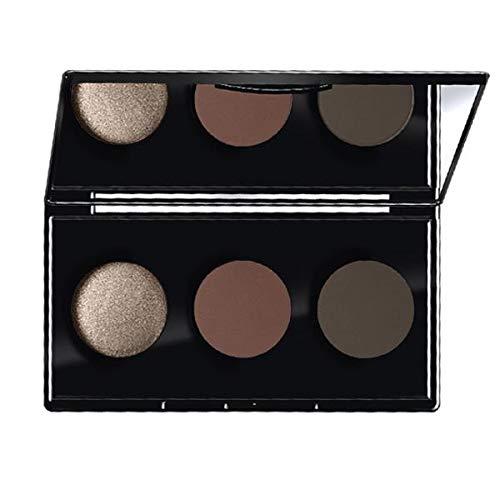 Farmasi Make Up Trio Eyeshadow Kit 6 G- 04 Vice Brown (Usa)