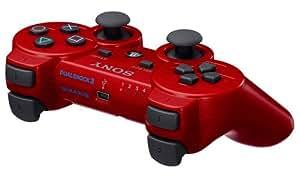 Sony Dualshock 3 - Volante/mando (Gamepad, Playstation 3, Select, Start, Inalámbrico, Rojo, 141.2 x 92.2 x 215.9 mm)