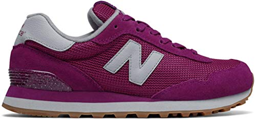 New Balance Women's 515V1 Sneaker,Mulberry/Bone,7.5 B ()