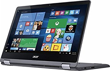 Acer Aspire R 2-in-1 Convertible 15.6 Inch FHD IPS Touchscreen Laptop, Intel Core i5-7200U, 8GB DDR4 RAM, 1TB HDD, Backlit Keyboard, HDMI, Bluetooth, 802.11ac, Windows 10- Aluminum chassis