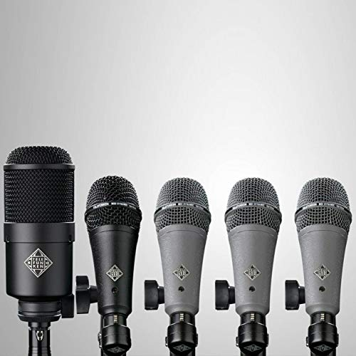TELEFUNKEN DD5 マイクロホンセット Microphones Drum Pack テレフンケン   B07G6MNDT4