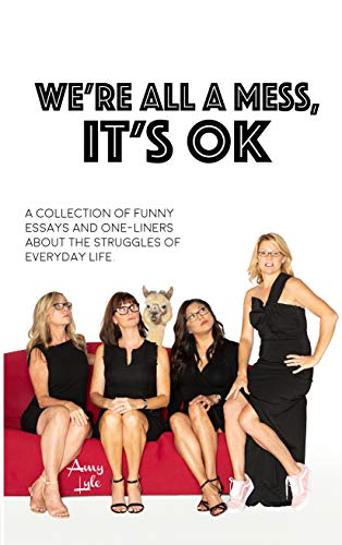 We're All A Mess, It's OK: A collection of funny essays and one-liners about the struggles of everyday life by [Lyle, Amy]