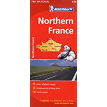 Michelin France North Map 724