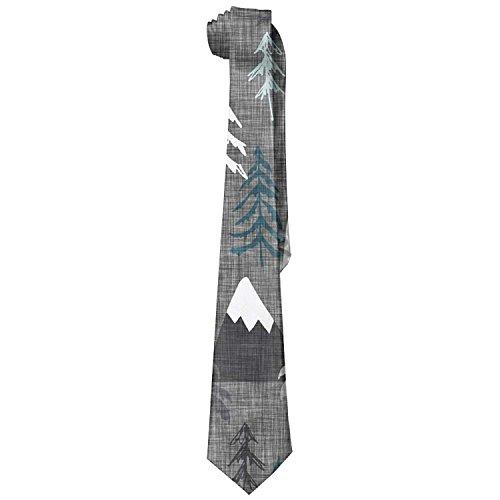 Skinny Great Necktie Tie Print Silk Groom Dances 7 Weddings For Neckties Gifts Groomsmen Man's With Necktie Wide Mountain Missions 8HIAwP0q