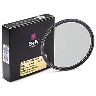 B + W Circular Polarizer Kaesemann - Xtra Slim Mount (XS-PRO), HTC, 16 Layers Multi-Resistant and Nano Coating, Photography Filter, 72 mm