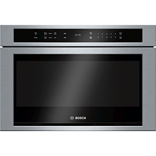 Bosch HMD8451UC 800 24″ Stainless Steel Microwave Drawer