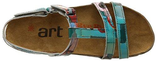 geometrinen Naisten Art 889 Multicolore Hengitän Sandaalit 4fZPRgq1w