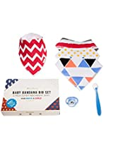 Baby Bandana Bibs (4-pack) by PallMier | Soft...