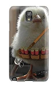 Shock-dirt Proof Funny Chick Soldier Case Cover For Galaxy Note 3