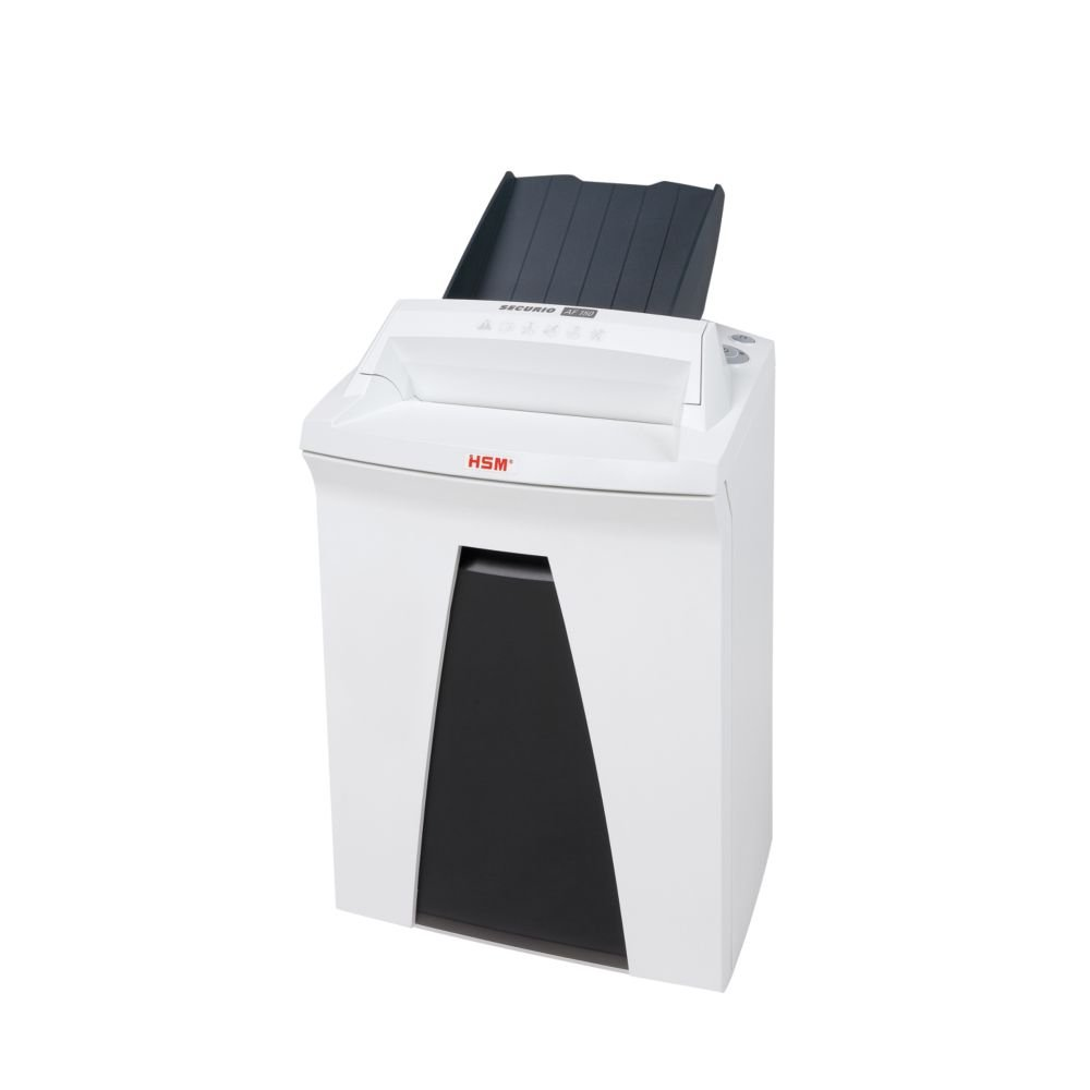 HSM SECURIO AF150 Cross-cut Shredder with automatic paper feed; shreds up to 150 automatically/19 manually; 9 gallon capacity