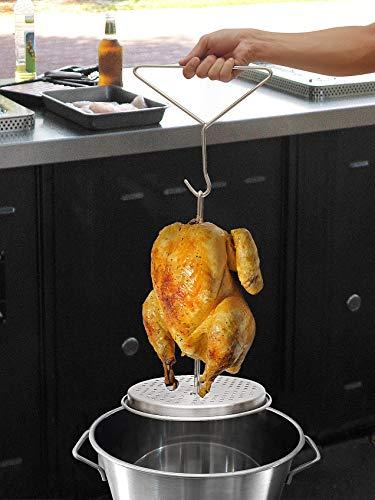 JIAYE Turkey Rack with Roaster