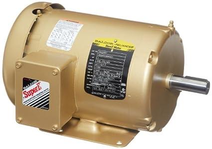 41xTnVveR7L._SX425_ 230 460 baldor motors baldor 1 5 hp electric motor wiring 3 phase