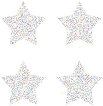 Dazzle Stars Stickers (Dazzle Chart Seals Stars Silver)