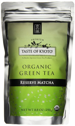 TASTE OF KYOTO Matcha Green Tea, Bulk Reserve, 8.80 Ounce by Taste of Kyoto