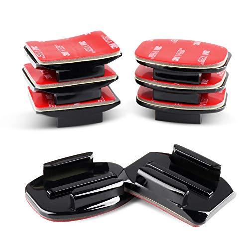 Soportes adhesivos para cámaras GoPro Hero 10 9 8 7 6