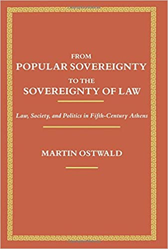 Amazon.com: From Popular Sovereignty to the Sovereignty of Law: Law ...