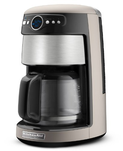KitchenAid KCM222CS Silver and Stainless Steel Front Coffee Maker, 14 Cup Architect Series (Kitchenaid 14 Cup Coffee Maker)