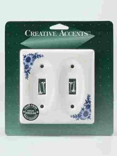 Creative Accents Floral Porcelain Plate