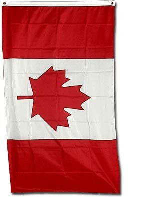 Amazoncom  New 2x3 National Flag of Canada Canadian Country