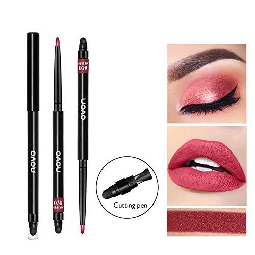 Professional Multi-Functional Eyeshadow Pencils Makeup Lip Face Eye Contour Waterproof Eye Shadow Pen Tools