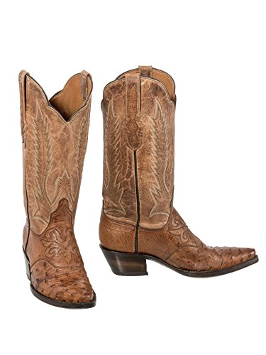 Black Jack Full Quill Ostrich Vamp (Womens Full Quill Ostrich Boot)