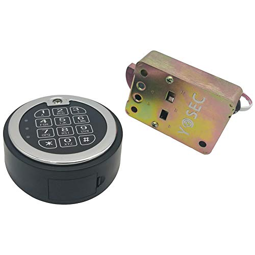 Electronic Digital keypad time delay Lock for safes, up to 5 User Codes, time delay from 0-59 Minutes,Dual Control Model