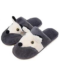 839234c067c4 Indoor Home Slippers Memory Foam Men Women Cotton Cozy Massage Flax House  Casual Slide Shoes