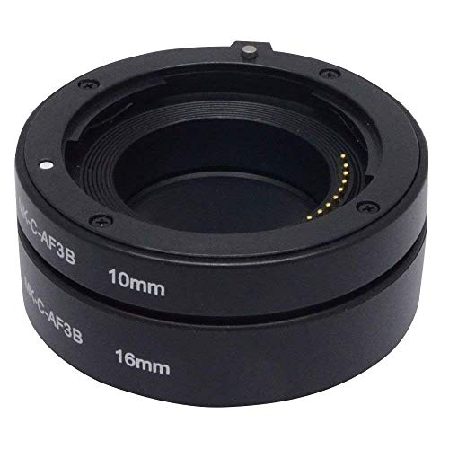 Mcoplus AF Auto Focus Canon EOS Macro Extension Tube Set(10mm + 16mm) Fit Canon EOS-M EOS M Mount Mirrorless Camera