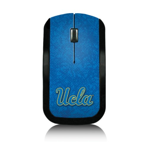 UCLA Bruins Wireless USB Mouse officially licensed by UCLA Slim Sleek Low-Profile Portable by keyscaper® ()