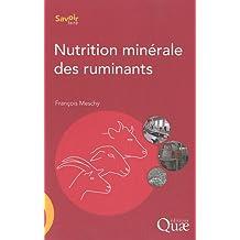 Nutrition Minerale des Ruminants