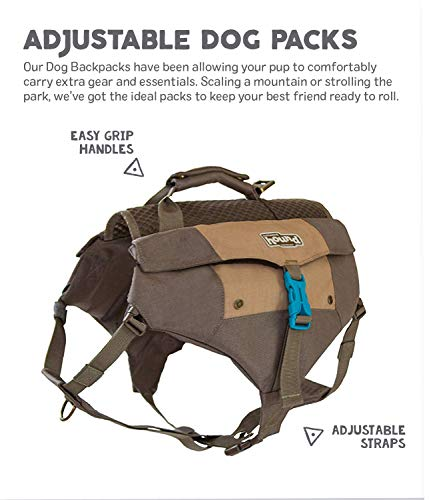 Denver Urban Pack Lightweight Urban Hiking Backpack for Dogs by Outward Hound, Large/X-Large