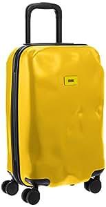 Crash Baggage Pioneer Small Maleta Trolley de Cabina Abollada, Color Amarillo