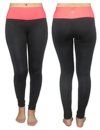Marika Womens Professional Sports Skinny Pants Leggings / Yoga Pants S Black