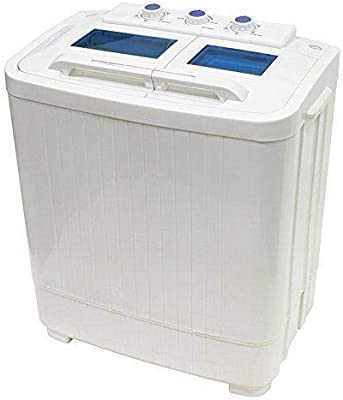 XtremepowerUS Portable Compact Washer Washing Machine With Built ...