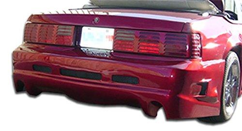 Duraflex ED-TKT-212 GTX Rear Bumper Cover - 1 Piece Body Kit - Fits Ford Mustang 1979-1993 ()