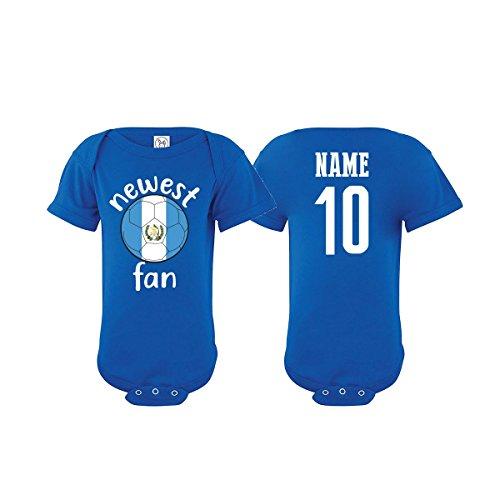 nobrand Guatemala Bodysuit Newest Fan National Team Soccer Baby Girls Boys Customized (Bodysuit 24M) from nobrand