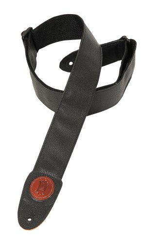 Levy's Leathers MSS7GP-BLK 2-inch Garment Leather Strap,Black from Levy's Leathers