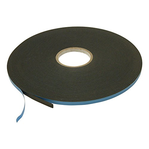J.V. Converting DC-WGT-01/BLK03825013 JVCC DC-WGT-01 Double Coated Window Glazing Tape: 1/8